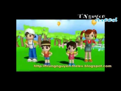 Dạy trẻ học số bằng phim ảnh _Tập thể dục