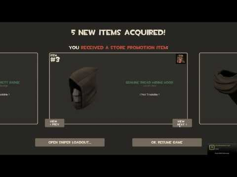 Tf2 Promotional Items From Free Games