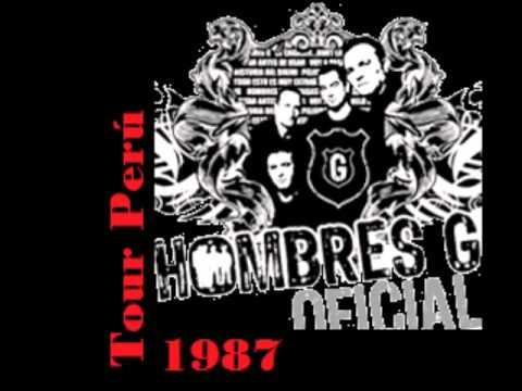 Hombres G  Estadio Nacional 1987