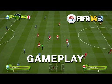 Uruguay vs England Gameplay 2014 FIFA World Cup Brazil [HD]