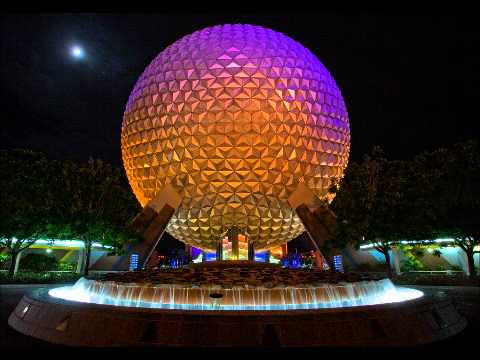 Epcot Entrance Area Music - Complete Loop (1982)