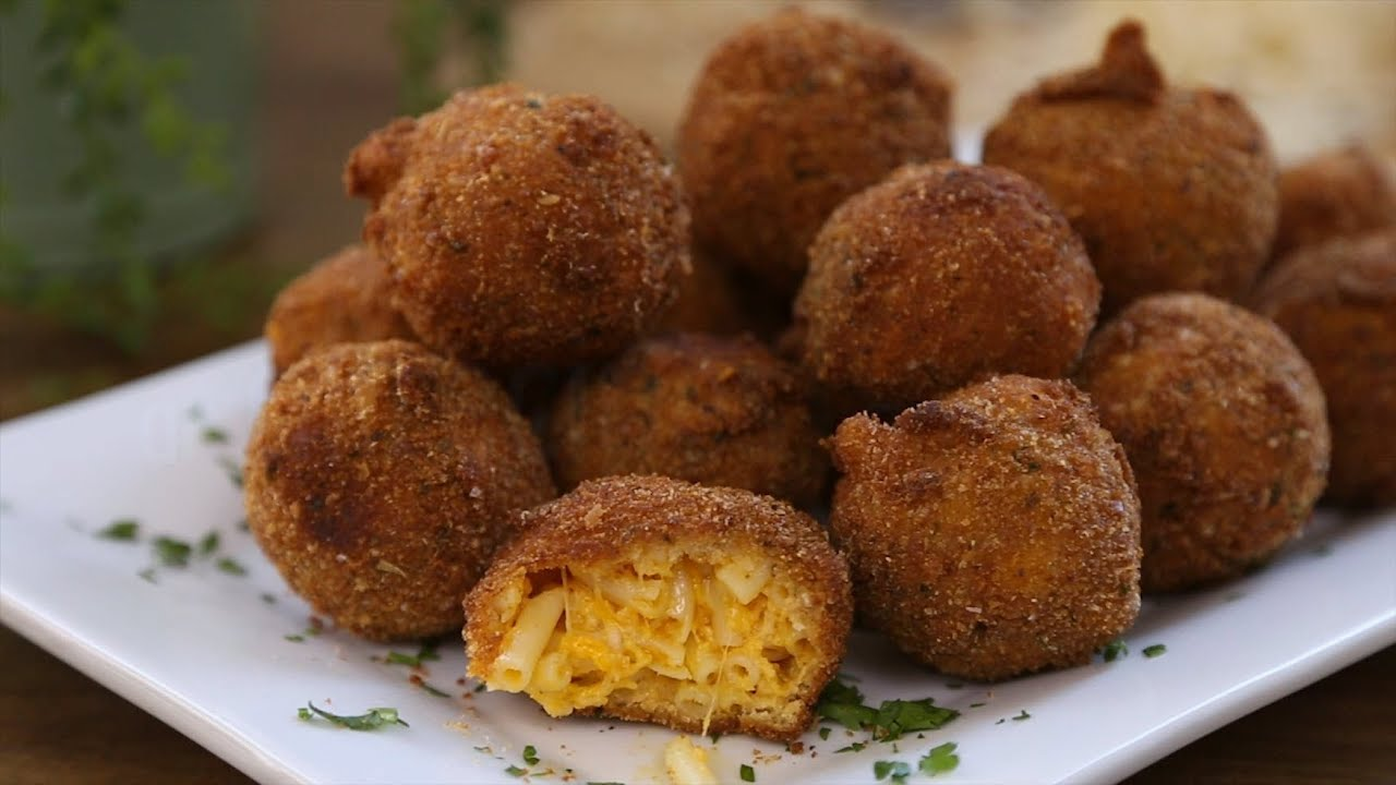How to Make Fried Mac and Cheese Balls | Pasta Recipes ...