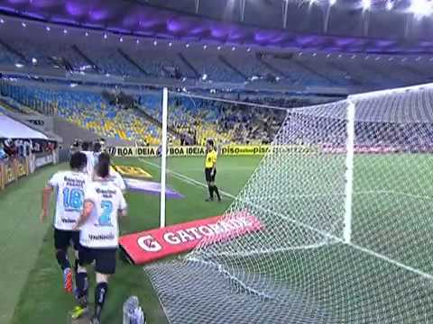 Gol do Grêmio! Golaço de Alex Telles, do Grêmio contra o Botafogo no Maracanã, BR2013