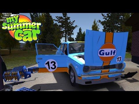 My Summer Car #12 |  Instalando Piezas Tuneadas Satsuma al 100%