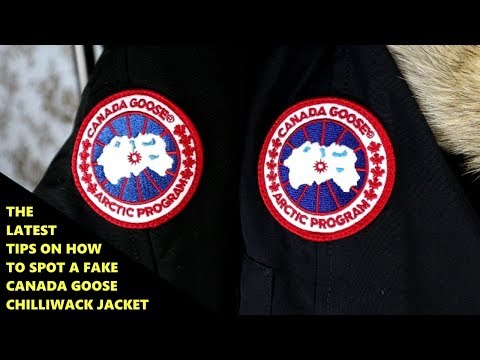 Real Vs Replica Canada Goose HOW TO SPOT A FAKE CANADA GOOSE JACKET