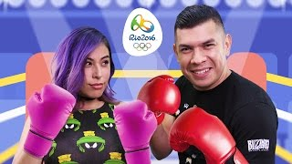 CLOSE OLYMPIC GAMES! Husband vs Wife - Mario & Sonic Rio Olympics 2016