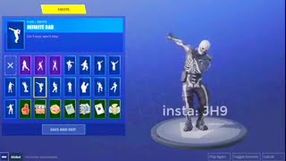 ALL FORTNITE *NEW* LEAKED EMOTES - Infinite dab, Eagle, Bring It, Heart Emote, Sparkler