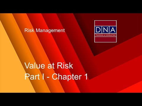 Value at Risk - Chapter 1