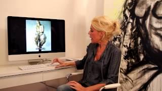 Judith Osborn geeft mini-kunstcollege over Jenny Saville - RTL LATE NIGHT