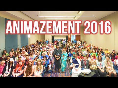 Our first ever Anime Convention! ANIMAZEMENT