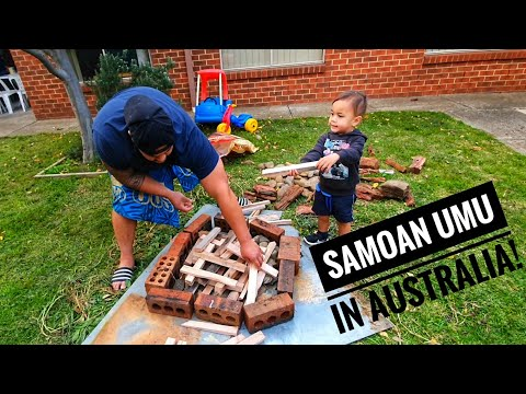 HOW TO MAKE A SAMOAN UMU IN AUSTRALIA