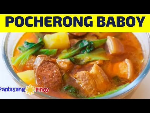Pocherong Baboy Recipe and Kitchen Tour