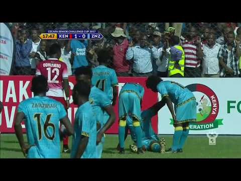 Azam TV - CECAFA2017: FULL HIGHLIGHTS; KENYA 2-2 ZANZIBAR (Penati 3-2) - KISWAHILI