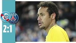 Racing Straßburg - Paris Saint-Germain 2:1 / Mbappé, Neymar & Draxler mit der 1. Pleite