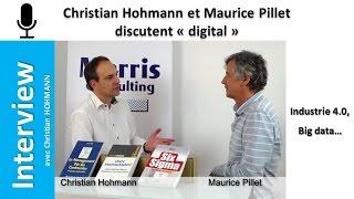 """Christian Hohmann et Maurice Pillet discutent """"digital"""""""