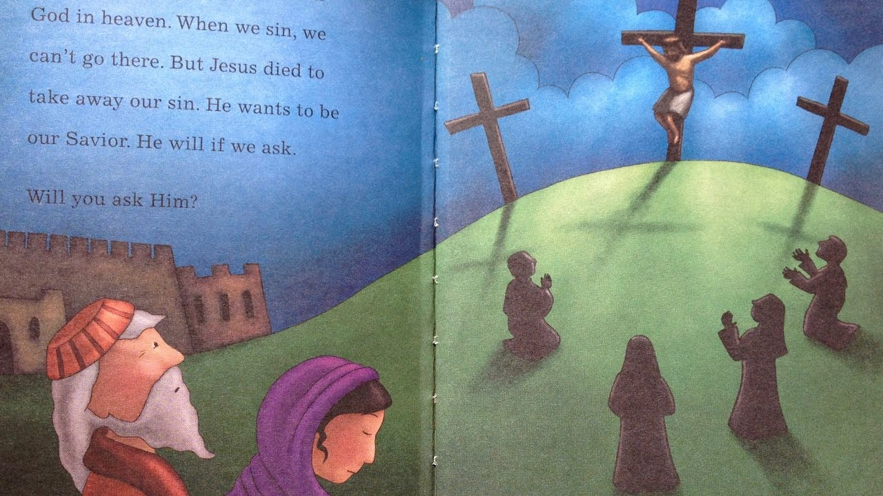 children u0027s daily bible story jesus dies on a cross easter story