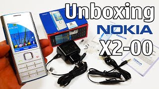Nokia X2-00 Unboxing 4K with all original accessories RM-618 review