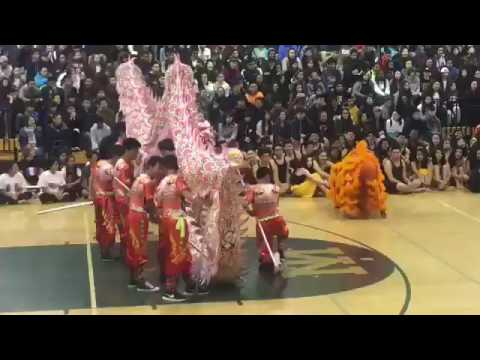 MTHS Lion Dance - 2017 Multicultural Assembly!