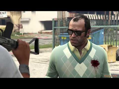 GTA 5 FUNNY Rampage Cutscenes