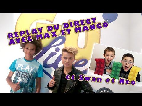 Max et Mango live avec Néo et Swan the Voice // Gu'Live en Live