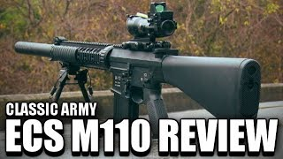 Classic Army ECS M110 Airsoft Marksman Rifle Review