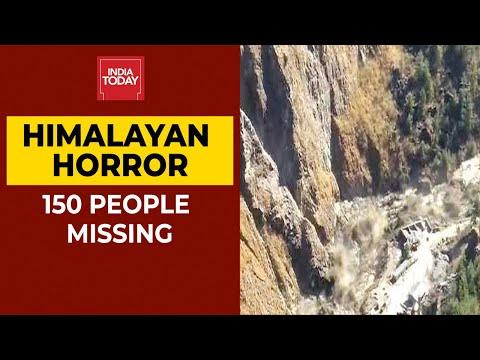 Uttarakhand Glacier Burst Live: 3 Bodies Recovered, 150 Feared Missing; IAF Joins Rescue Ops