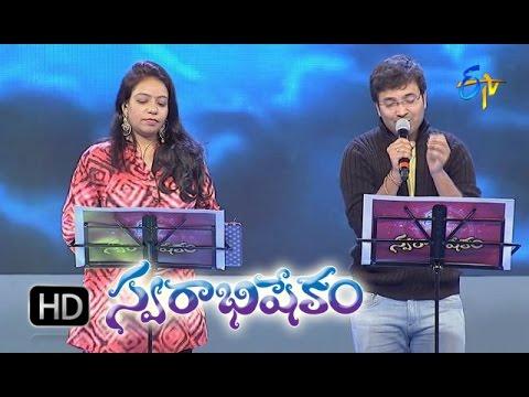 Pedave Palikina Song - Srikrishna & Sri Lekha Performance in ETV Swarabhishekam - 15th Nov 2015