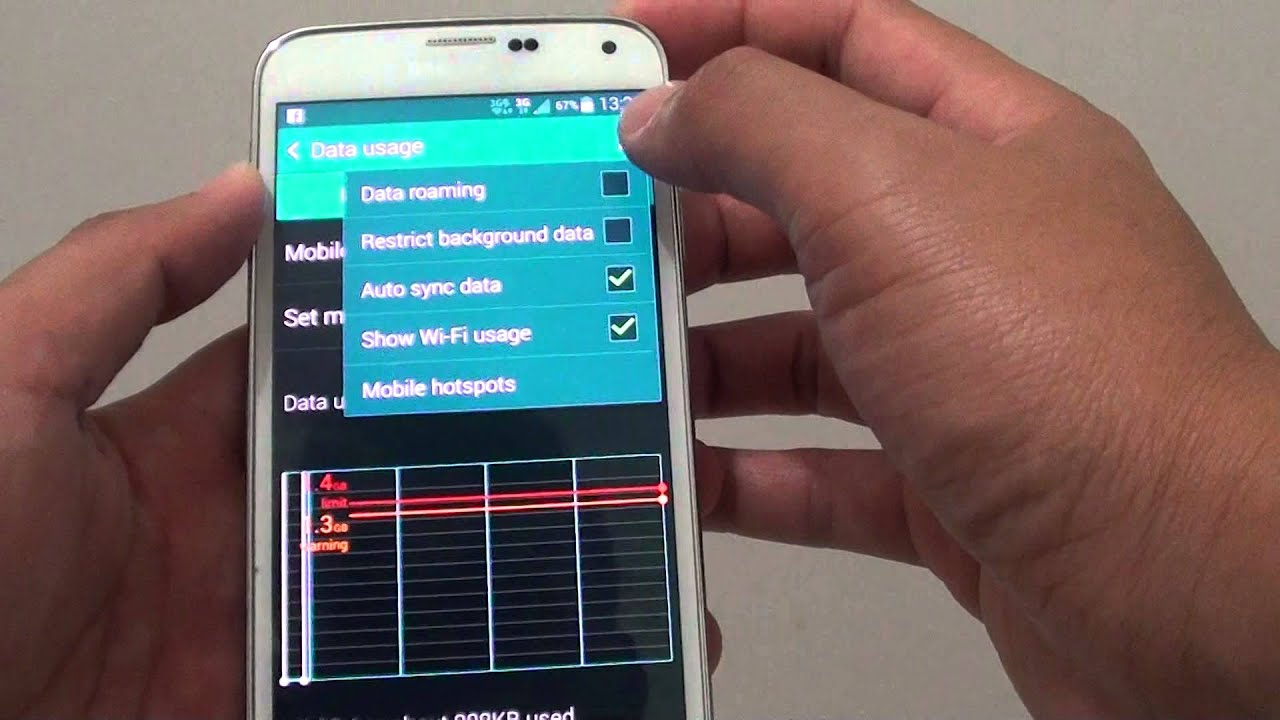 Samsung Galaxy S5: How to Prevent Apps From Using Mobile ...
