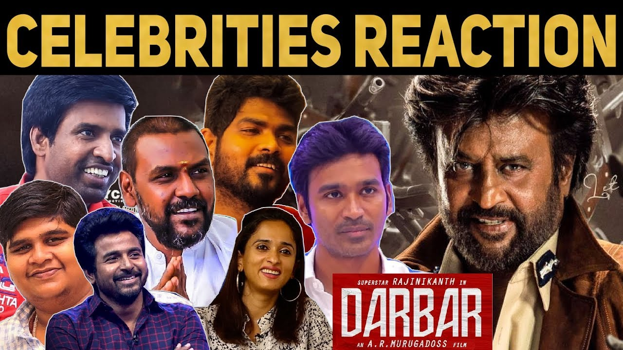 Celebrities Reactions About Darbar | Rajinikanth | AR Murugadoss | #Nettv4u