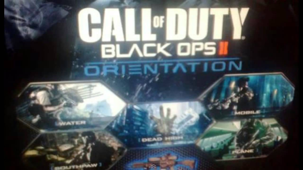 Black Ops 2 New Map Pack Orientation DLC Dead High Zombies