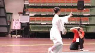 2012第四屆世界盃太極拳錦標賽 范嫚紜最新演出