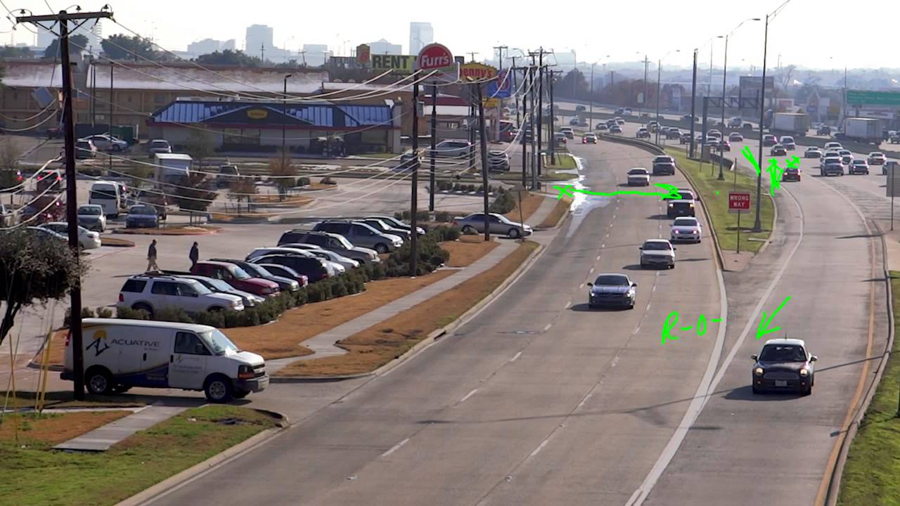 Controlled Access Roads Driving in Texas - YouTube