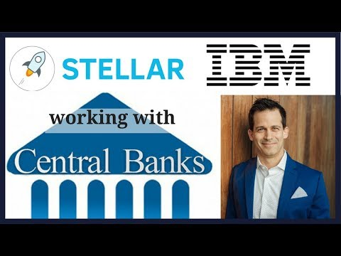 Central Banks with IBM and Jed McCaleb will issue fiat cryptocurrency on the Stellar Network