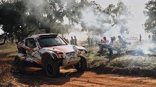 Гонщики падают в обморок на ралли рейде в Португалии