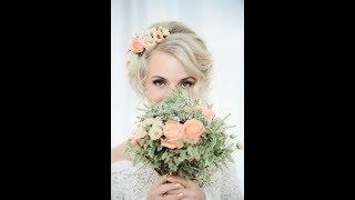Украшения для свадебной прически с цветами ручной работы!