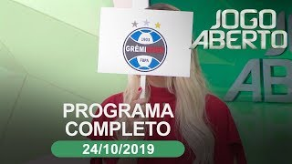 Jogo Aberto - 24/10/2019 - Programa completo
