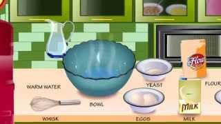 Кухня Сары рулетики с карамелью - игра для девочек