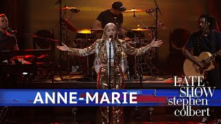 Anne Marie Performs '2002' Video