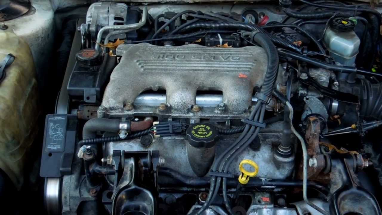 1998 Chevrolet Lumina Starting Engine  YouTube