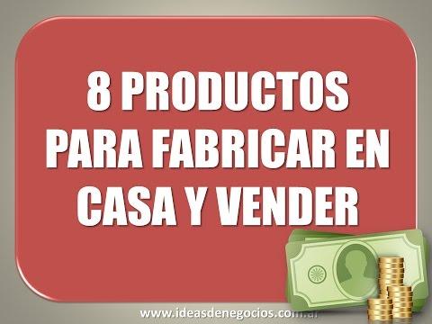 8 productos para fabricar en casa vender y ganar youtube - Cosas para hacer en casa ...