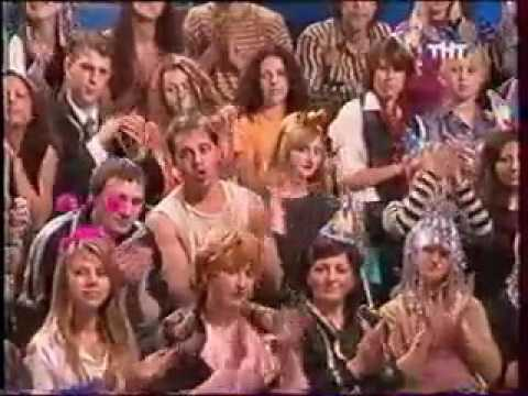 "Программа ""Окна"" проводы 2002 года.Ирина Салтыкова ""Алло-алло"" и интервью."