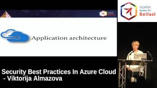 AppSec EU 2017 Security Best Practices In Azure Cloud by Viktorija Almazova