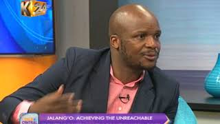 Talk Central: One on one with comedian Jalang'o (Part 1)