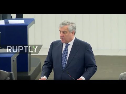 LIVE: European Parliament Plenary Session On Brexit
