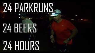 EXTREME PARKRUN: 24 parkruns, 24 beers, in 24 hours
