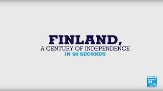 Finland, a century of independence in 90 seconds - #POSTERS