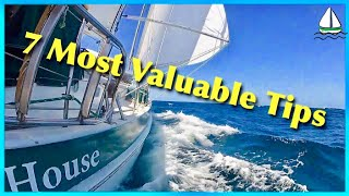 7 Sailing Tips For Blue Water Sailboats (How to STOP LEAKS on Sailboats)Patrick Childress Sailing#25