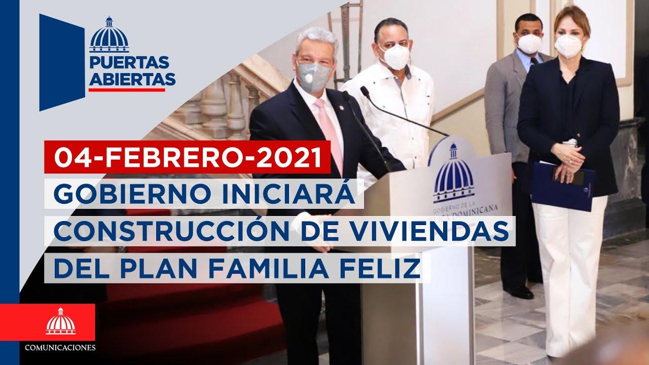 Resultado de imagen para Gobierno iniciará construcción de viviendas del plan Familia Feliz
