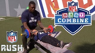 NFL Player's Kids Compete in the Baby Combine! | NFL Rush thumbnail