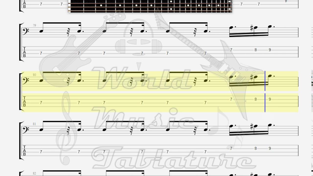 Doors The Roadhouse Blues Bass Guitar Tab Youtube
